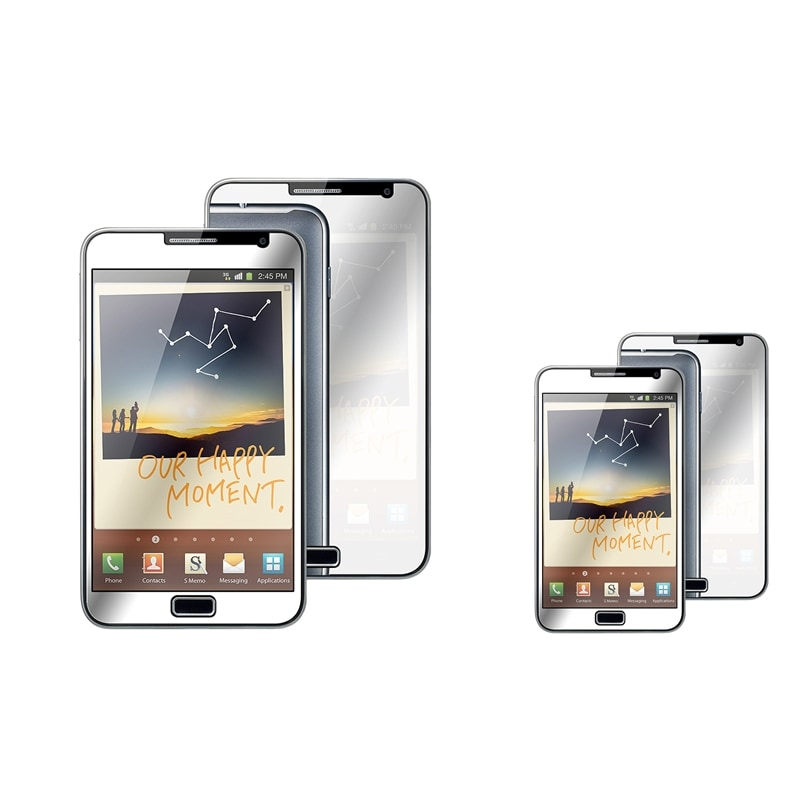 INSTEN Mirror Screen Protector for Samsung Galaxy Note N7000 (Pack of 2)