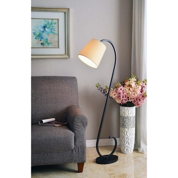 Design Craft Washington Oil Rubbed Bronze 56-inch Floor Lamp