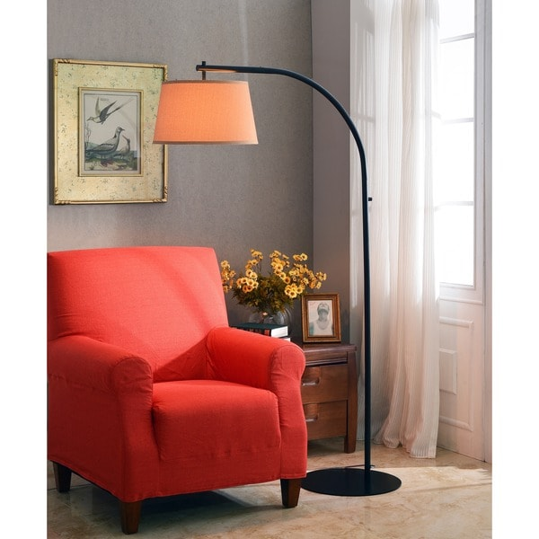 Design Craft Hackett Oil Rubbed Bronze 69-inch Floor Lamp