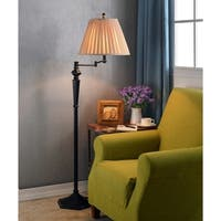 Custer 61-inch Swing Arm Floor Lamp - Oil Rubbed Bronze