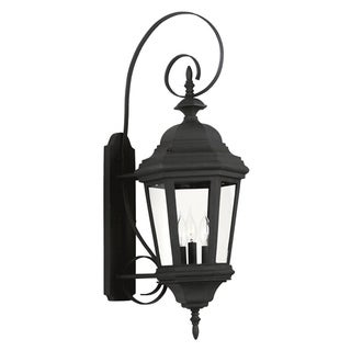 Oscar 31-inch High With Black Finish Large Wall Lantern