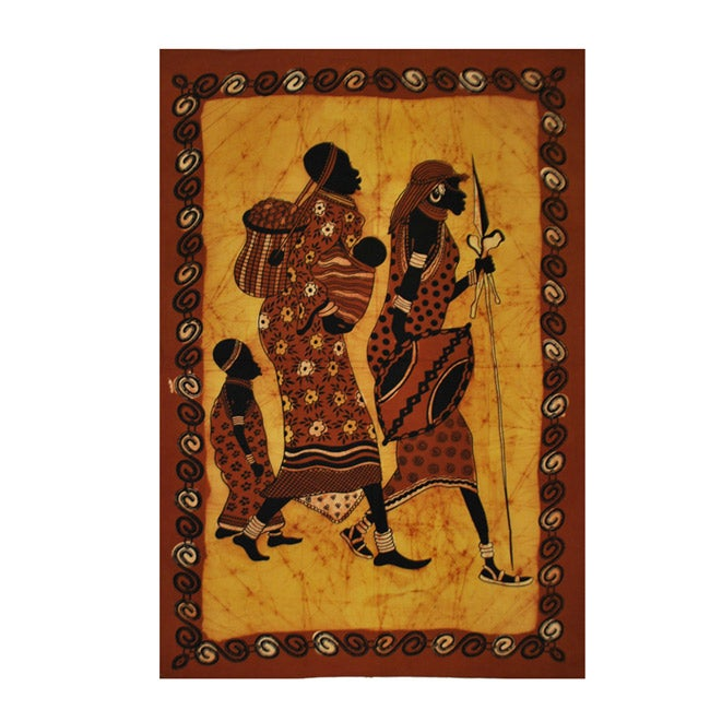 African Women March Tapestry (India)