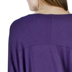AtoZ Women's Oversized Batwing Top - Thumbnail 2