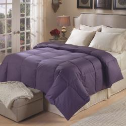 Luxury-Sized Tattersol 500 Thread Count Down Comforter - Thumbnail 1