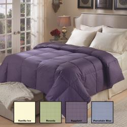 Luxury-Sized Tattersol 500 Thread Count Down Comforter