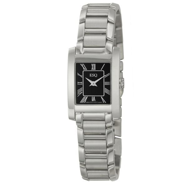 ESQ by Movado Women's 'Venture' Stainless Steel Swiss Quartz Watch