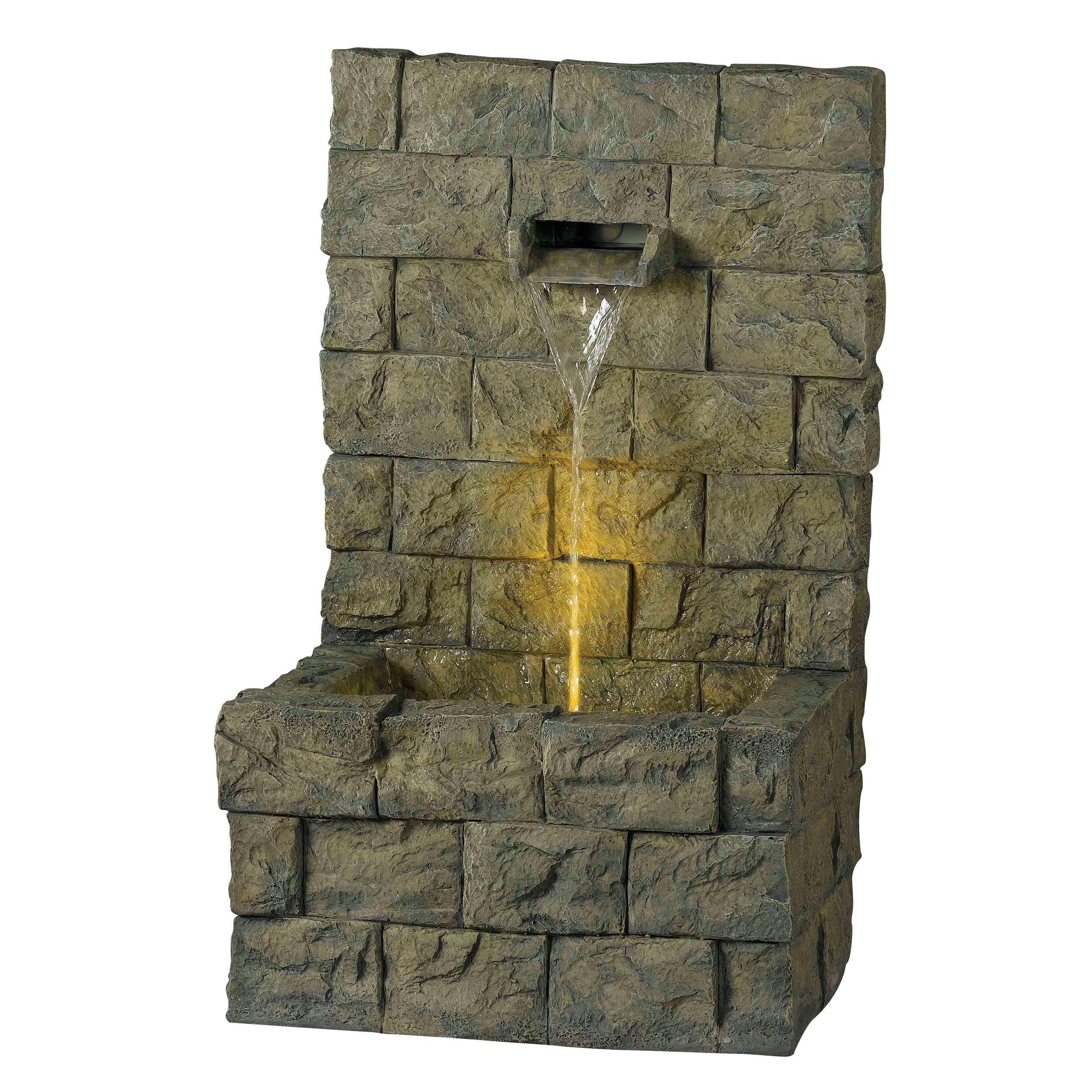 Bolden Outdoor Floor Fountain