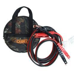 Extra Heavy-duty 16-foot Jumper Cables with Polyester Carry Bag - Thumbnail 1