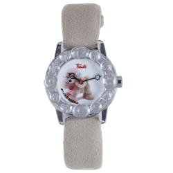 Trudi Kids' Beige Suede Watch