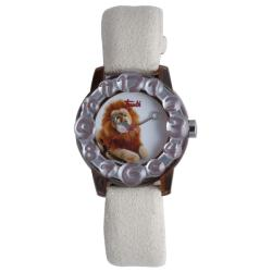 Trudi Kids' White Suede Watch