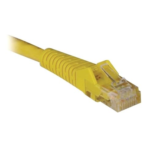 Tripp Lite 50ft Cat6 Gigabit Snagless Molded Patch Cable RJ45 M/M Yellow 50'