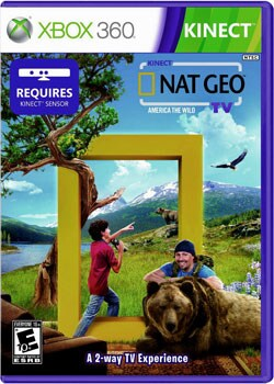 Xbox 360 - Nat Geo TV For Kinect (Requires Kinect)