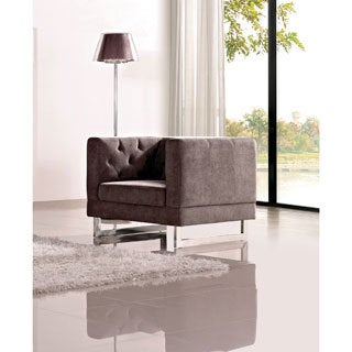 DG Casa Dark Raisin Grey Allegro Chair
