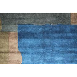 Contemporary Hand-Knotted New Zealand Wool Rug (6' x 9') - Thumbnail 1