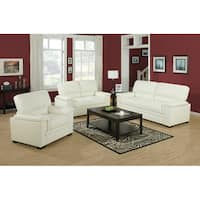 Ivory Bonded Leather / Match Chair