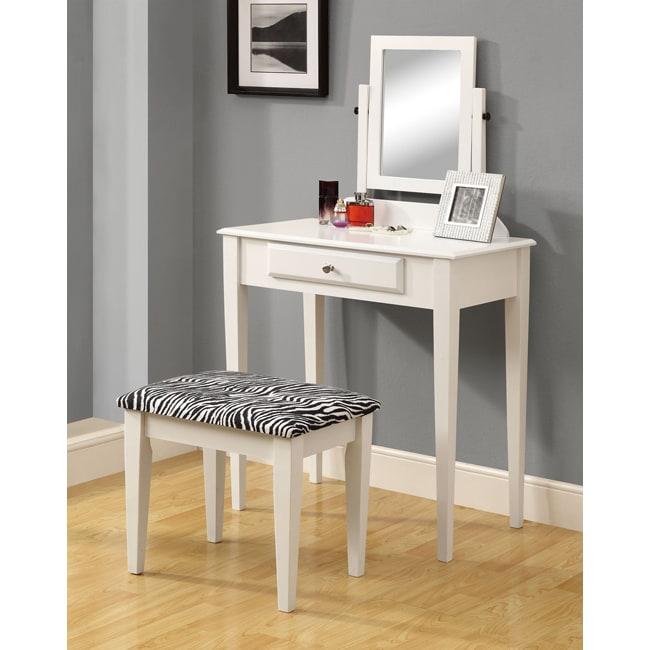 Monarch White 2-piece Vanity Set (White 2PCS Vanity SET W...
