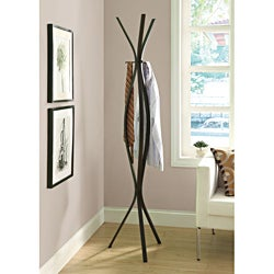 Copper Grove Stepanavan Cappuccino Metal 72-inch Coat Rack