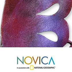 Violet Hummingbird Indoor Outdoor Decorator Accent Red Purple Green Painted Iron Metal Bird Wall Art Sculpture (Mexico)