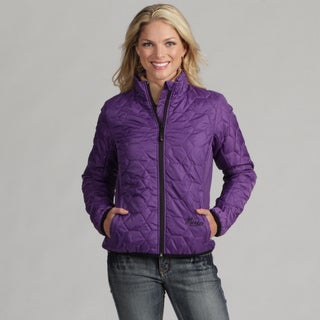 Marker Women's 'Candy' Purple Quilted Jacket