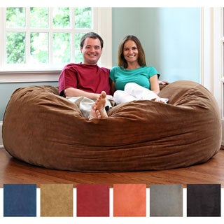 Gold Medal 6-Foot Comfort Cloud Foam Bean Bag