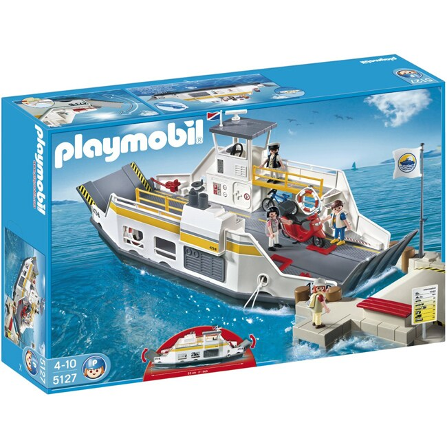 Playmobil Car Ferry with Pier
