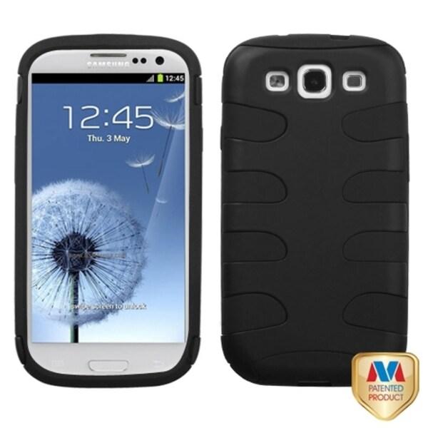 Insten Premium Fishbone Hybrid Case for Samsung Galaxy S III / S3