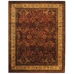 Safavieh Handmade Persian Legend Red/ Ivory Wool Rug (6' x 9')