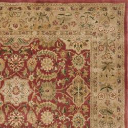 "Safavieh Handmade Persian Legend Red/Ivory Wool Area Rug (7'6"" x 9'6"") - Thumbnail 1"