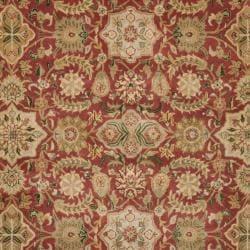 "Safavieh Handmade Persian Legend Red/Ivory Wool Area Rug (7'6"" x 9'6"") - Thumbnail 2"