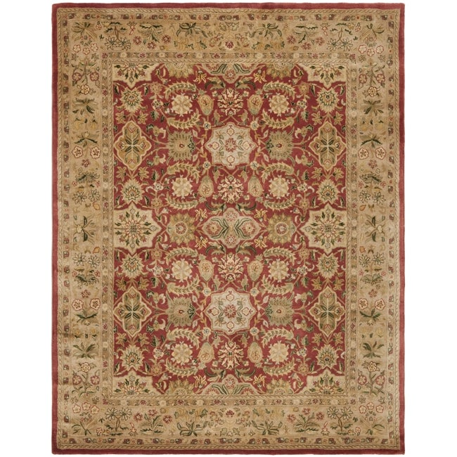 Safavieh Handmade Persian Legend Red/ Ivory Wool Rug (8'3 x 11')