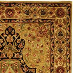 Safavieh Traditional Handmade Persian Legend Soft Green/Ivory Wool Rug (5' x 8') - Thumbnail 1