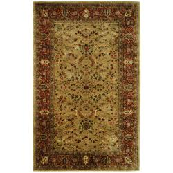 Safavieh Handmade Persian Legend Gold/ Rust Wool Rug (6' x 9')