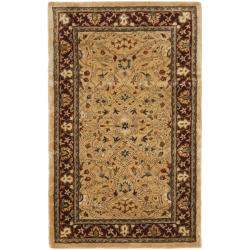 Safavieh Handmade Persian Legend Ivory/Rust Wool Floor Rug (3' x 5')