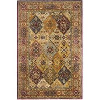Safavieh Handmade Persian Legend Multi/ Rust Wool Rug - 6' x 9'