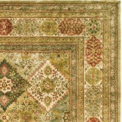 Safavieh Handmade Persian Legend Multi/ Ivory Wool Rug (7'6 x 9'6) - Thumbnail 1