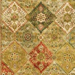 Safavieh Handmade Persian Legend Multi/ Ivory Wool Rug (7'6 x 9'6) - Thumbnail 2