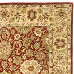Safavieh Handmade Persian Legend Rust/ Ivory Wool Rug (4' x 6') - Thumbnail 1