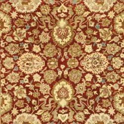 Safavieh Handmade Persian Legend Rust/ Ivory Wool Rug (4' x 6') - Thumbnail 2