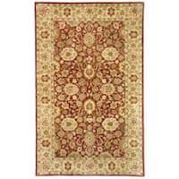 Safavieh Handmade Persian Legend Rust/ Ivory Wool Rug - 4' x 6'