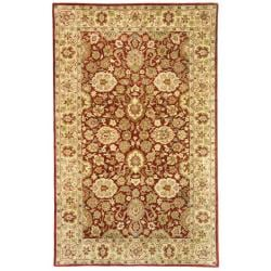 Safavieh Handmade Persian Legend Rust/ Ivory Wool Rug (5' x 8')