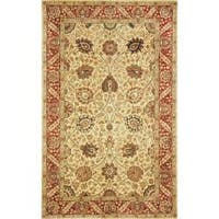 Safavieh Handmade Persian Legend Ivory/ Red Wool Rug - 6' x 9'