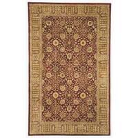 Safavieh Handmade Persian Legend Red/ Light Brown Wool Rug - 6' x 9'