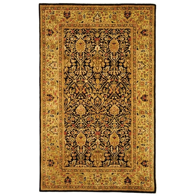 Safavieh Handmade Persian Legend Blue/Gold Wool Area Rug (4' x 6')