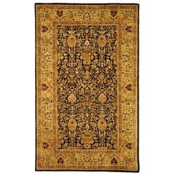 Safavieh Handmade Persian Legend Blue/Gold Wool Area Rug (5' x 8')