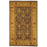Safavieh Handmade Persian Legend Blue/Gold Wool Area Rug (5' x 8')