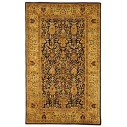Safavieh Handmade Persian Legend Blue/Gold Wool Area Rug (6' x 9')