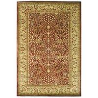 Safavieh Handmade Persian Legend Rust/ Beige Wool Rug - 4' x 6'