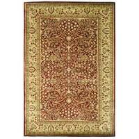 Safavieh Handmade Persian Legend Rust/ Beige Wool Rug - 5' x 8'