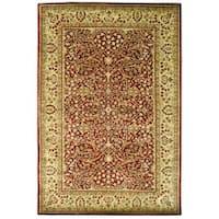 Safavieh Handmade Persian Legend Rust/ Beige Wool Rug - 6' x 9'