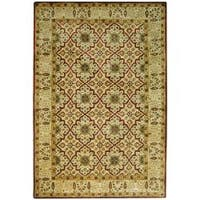 Safavieh Handmade Persian Legend Beige Wool Rug - 4' x 6'
